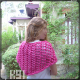 châle en kit à tricoter