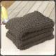 plaid à tricoter au point de riz