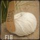 Fil 18 - blanc nacre coton et lin