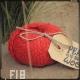 Fil 18 corail coton et lin