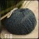Fil 18 fusain à tricoter coton et lin