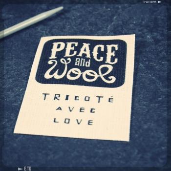 étiquette Peace & Wool ETQ