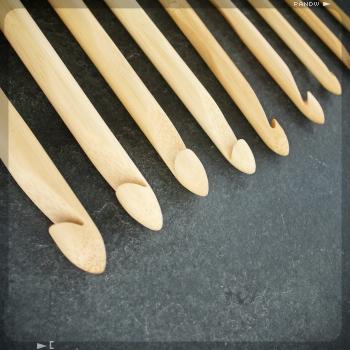 crochet en bambou C6