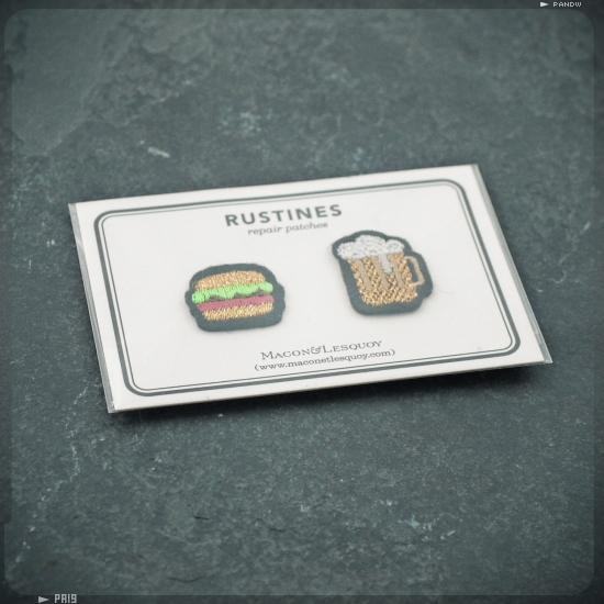 burger et bière