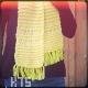 modèle d'écharpe tricotée