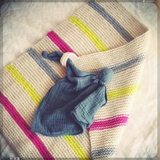 couverture bébé super douce en laine et alpaga