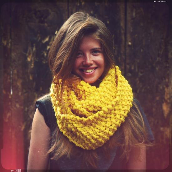 kit tricot snood femme