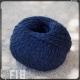 Fil 18 coton et lin black blue