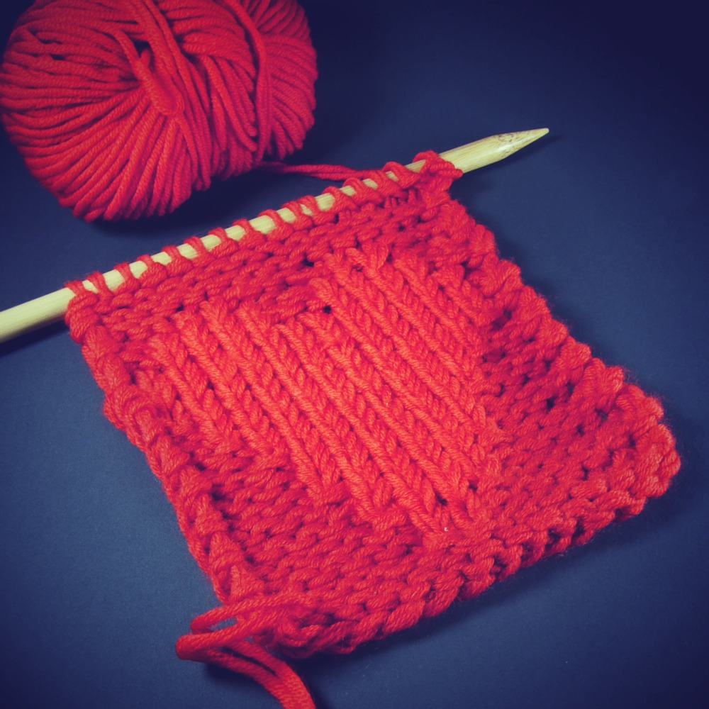 tricote un coeur